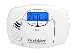 First Alert Digital Carbon Monoxide Alarm With a 5-Year Guarantee from First Alert
