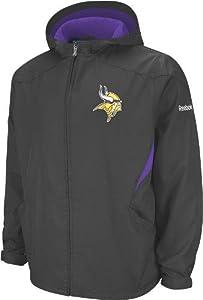 Minnesota Vikings Reebok 2011 Sideline Kickoff Midweight Full Zip Jacket by Reebok