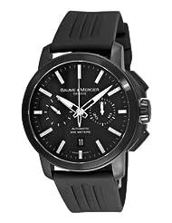 Baume Mercier Men's 8853 Classima XXL Chronograph Black Dial Watch