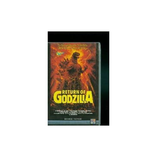 Return of Godzilla [VHS] Kejiu Kobayashi, Ken Tanaka, Yasuko