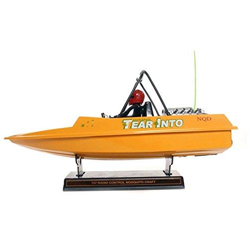 RC-RC-ferngesteuertes-Boot-Speedboot-Rennboot-Yacht-TEAR-INTO-KOMPLETT-SET-inkl-Fernsteuerung-Akku-Ladegert-Batterien