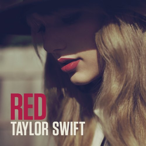 Original album cover of Red by Taylor Swift