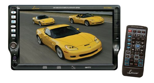 Lanzar SD75MU 7-Inch TFT Touchscreen DVD/VCD/CD/MP3/CD-R/USB/AM/FM/RDS Receiver