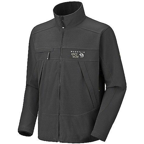 Mountain Hardwear WindStopper Tech Soft Shell Jacket - Men's Black L