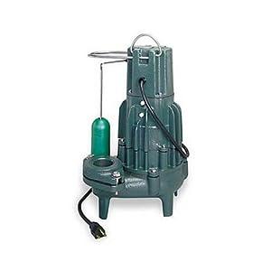 Zoeller 292 0001 115 Volt 1 2 Horse Power Model M292 High