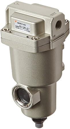"""SMC AMG250C-N02 Water Separator, Manual Drain, 750 L/min, 1/4"""" NPT"""