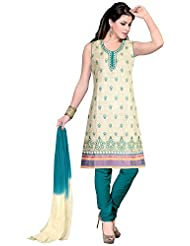 Elan Vital Women's Cotton Straight Salwar Suit