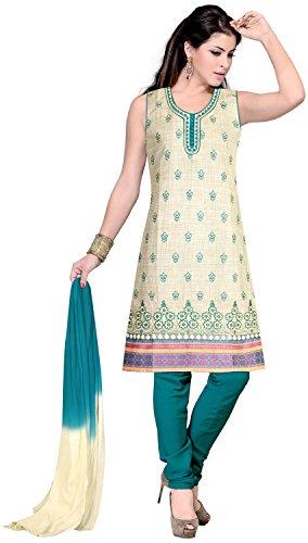 Elan Vital Women's Cotton Straight Salwar Suit
