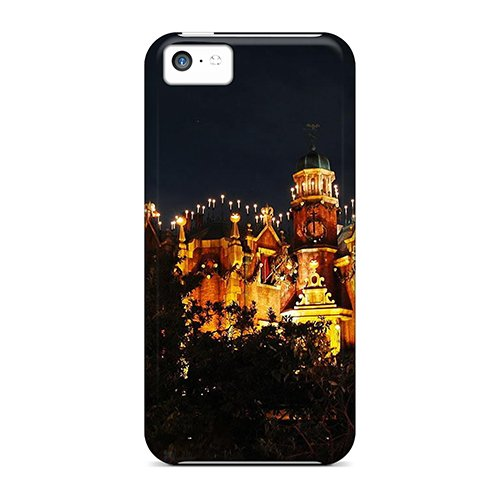 Alleternity Store Lnxch5223Kaabz Protective Case For Iphone 5C(Halloween Haunted Mansion)