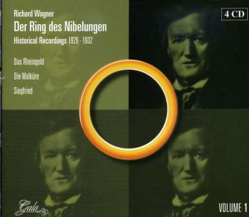 Buy Richard Wagner: Der Ring des Nibelungen - Historical Recordings 1926-1932 From amazon