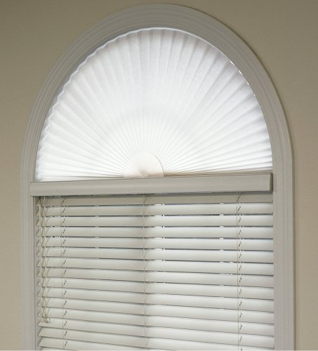Redi Shade 3362548 Arch White Window Shade 36 by 72 Inch New