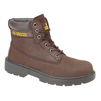 Amblers Unisex Steel FS113 Safety Boot S1-P / Mens Womens Boots (7 UK) (Brown)