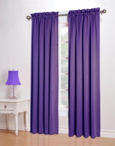 curtains drape panels treatment purple pair of light purple sheer