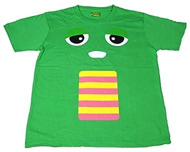ガチャピン 半袖Tシャツ メンズ pp5300 LL グリーン