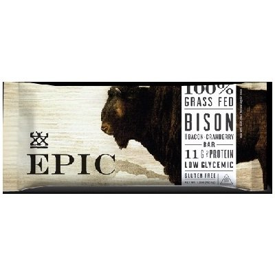 Bar Bison Bacon Cranberr 1.5 OZ (Pack of 12)