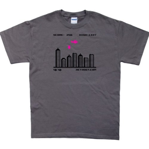 Blitz / Bomber Retro Video Game T-Shirt