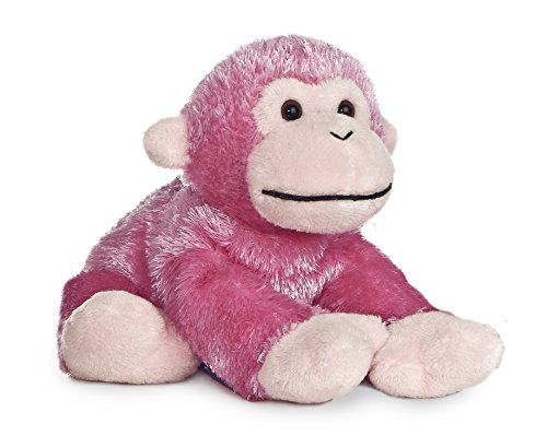 "Jungle Brights Pink Monkey 8"" by Aurora"