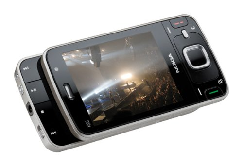 Nokia N96 16GB Unlocked Cellular Phone with 5MP Camera, 3G, GPS - International Version with No Warranty (Black)