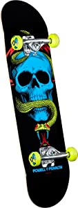Buy Powell-Peralta Blacklight Skull and Snake Complete Skateboard by Powell-Peralta