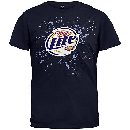 miller-logo-lite-splatter-maglietta-blu-m