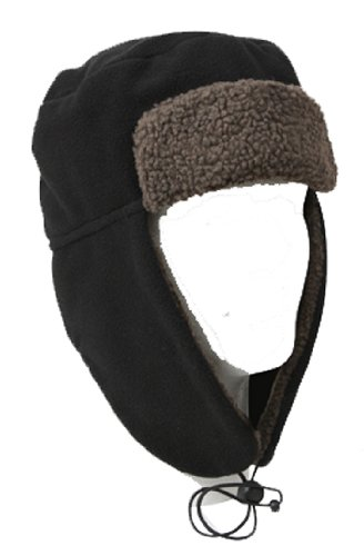 Rothco 8480 Polar sz. Fleece Flyers Hat, Black, 7-1/4 at Sears.com