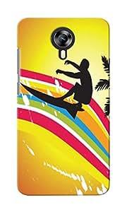 KnapCase Surfer Designer 3D Printed Case Cover For Micromax Canvas Xpress 2 E313