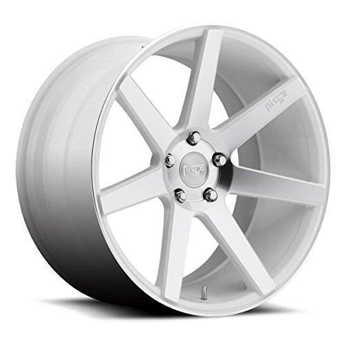Niche M151 Verona 22x10 5x120 +40mm Gloss White/Machined Face Wheel Rim (22 Rims White compare prices)