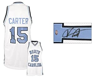 Vince Carter North Carolina Tar Heels Autographed Jersey - Memories - Mounted... by Sports+Memorabilia