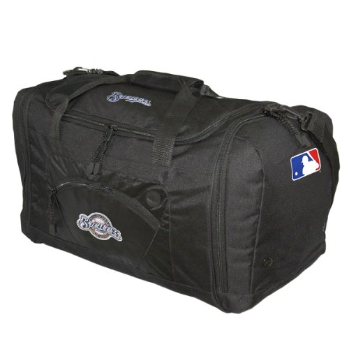 MLB Milwaukee Brewers Roadblock Duffle Bag at Amazon.com
