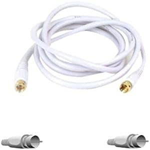 Belkin F8v304-25whbkst 25' Coax Cable, White from Belkin Components