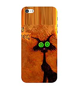 ifasho Animated Cartoons cat Back Case Cover for Apple iPhone 5