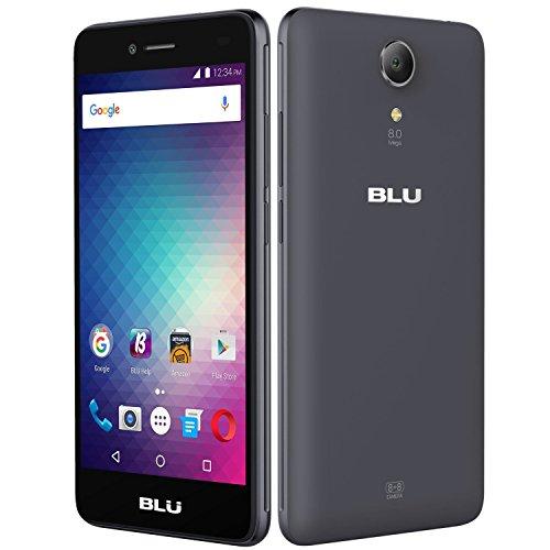 Blu Studio C 8+8 LTE S0170UU dikonci GSM 4G LTE smartphone w / 8MP Selfie kaméra - biru