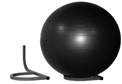 Wallmount Storage Rack for Inflated Exercise Balls, Holds 1 Picture