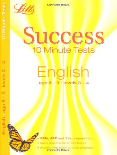 English Age 8-9: 10-Minute Tests (Letts Key Stage 2 Success)