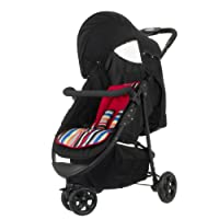 Obaby Tour 3 Wheeler (Black with Red Stripe) by Obaby
