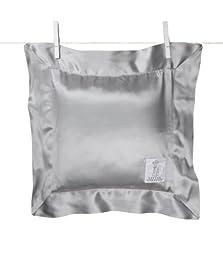 Little Giraffe Satin Chenille Pillow, Silver
