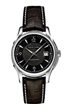 Hamilton Jazzmaster Black Dial Stainless Steel Mens Watch H32505131