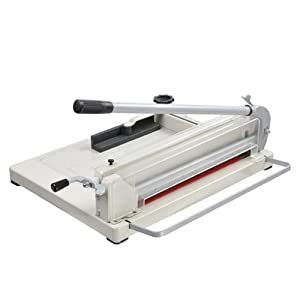 "Heavy Duty Commercial 17"" Manual Guillotine Paper Cutter Trimmer"