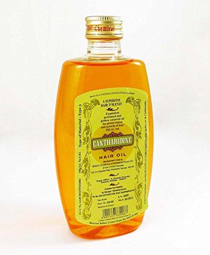 Cantharidine Hair Oil 400ml Pack of 2
