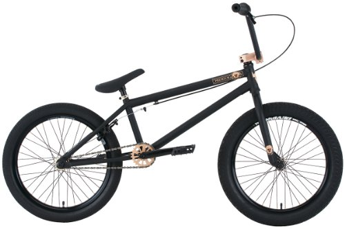 Premium Solo + 21In BMX Bike Matte Black 20