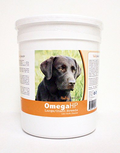 Healthy Breeds 120 Count Labrador Retriever Omega-HP Skin & Coat Soft Chews (Omega Hp compare prices)