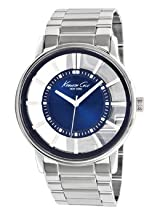 Kenneth Cole New York Marine Blue Skeleton Dial Men's watch #KC3993