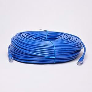 UbiGear New 300ft 100m Blue 300' Ft Rj45 Cat6 Ethernet Lan Network Internet Computer