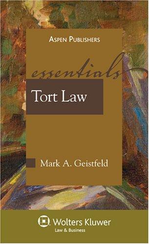 Torts: Essentials