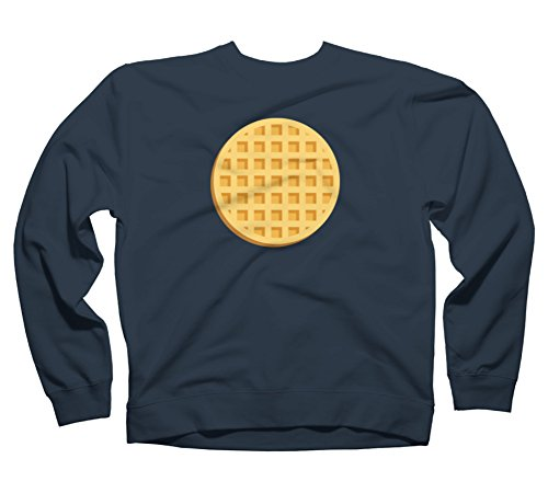 waffle-mens-2x-large-navy-graphic-crew-sweatshirt-design-by-humans