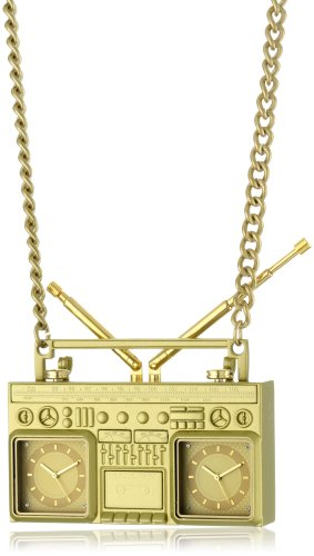 KR3W Men's K1010-GLD Chad Muska Blaster Gold Watch