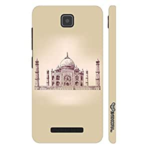 Enthopia Designer Hardshell Case The Taj Mahal Back Cover for Lenovo A1900