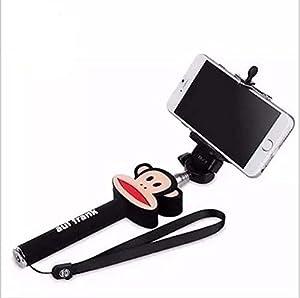 uupower 3d cartoon monopod wired selfie stick holder for iphone 5. Black Bedroom Furniture Sets. Home Design Ideas