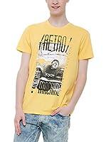 BIG STAR Camiseta Manga Corta Krestad_Ts_Ss (Amarillo)