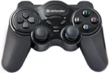 IronKey Game Master Wireless - Volante/mando (Gamepad, PC, Inalámbrico, RF, 2,4 GHz, USB) Negro